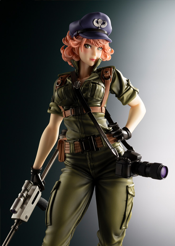 Kotobukiya GI JOE Bishoujo Series, Lady Jaye 1/7 Scale Figure