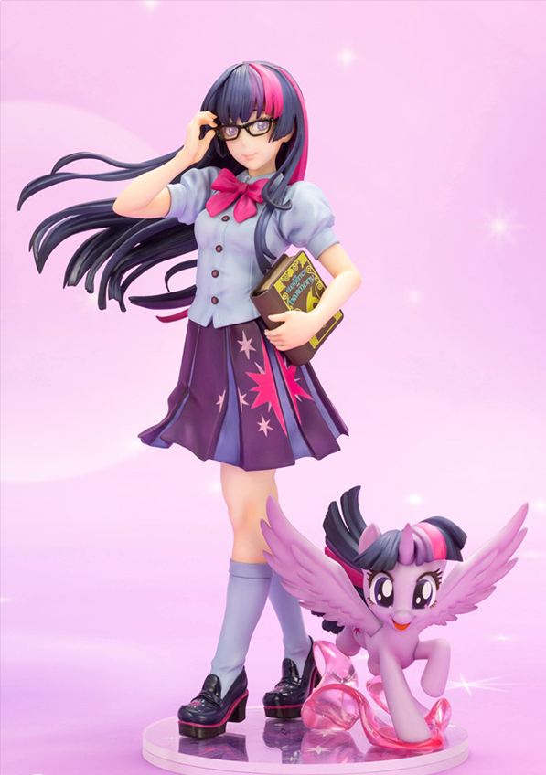 Kotobukiya My Little Pony Bishoujo Series, Twilight Sparkle 1/7 Scale Figure