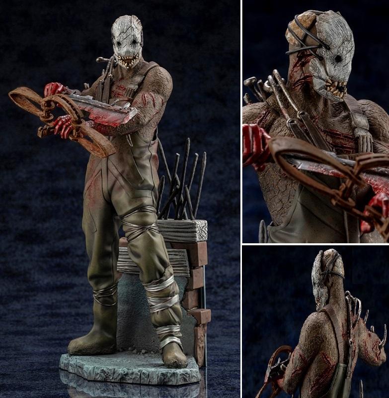 Kotobukiya Death By Daylight The Trapper Statue, Prepainted Figure Kit