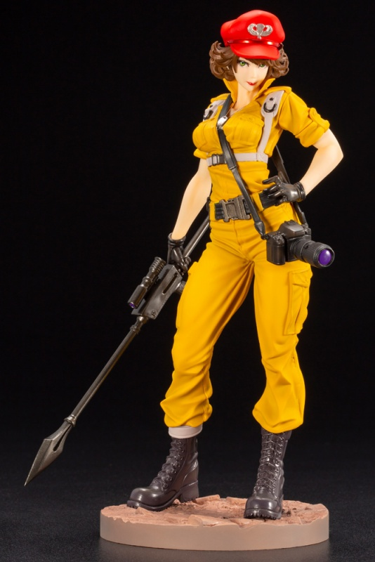 Kotobukiya 1/7 G.I. JOE Bishoujo Series Statue, Lady Jaye Canary Ann Color Figure Kit