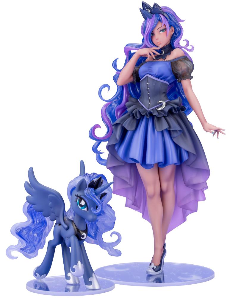 Kotobukiya 1/7 My Little Pony Series Princess Luna Bishoujo, PVC Figure Statue