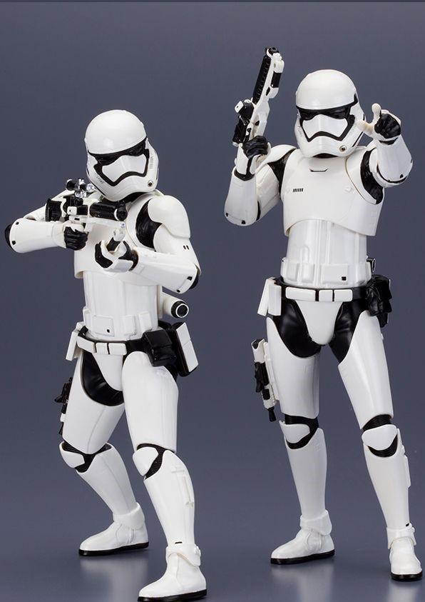 Kotobukiya 1/10 ARTFX+ Star Wars First Order Storm Trooper 2 Pack