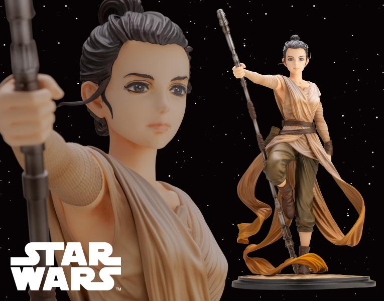 Kotobukiya 1/7 ARTFX Star Wars Artist Series Rey Descendant Of Light