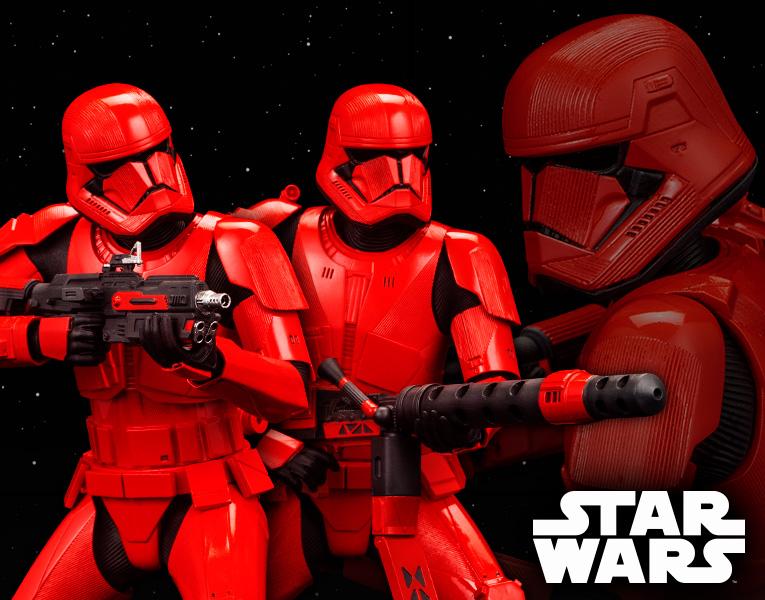 Kotobukiya 1/10 ARTFX+ Star Wars The Rise of Skywalker Sith Troopers 2Pack
