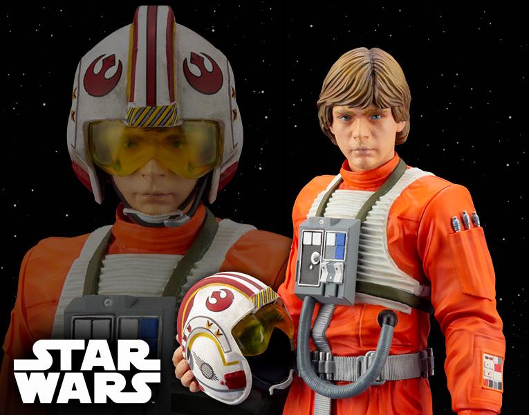 Kotobukiya 1/10 ARTFX+ Star Wars Luke Skywalker X-Wing Pilot