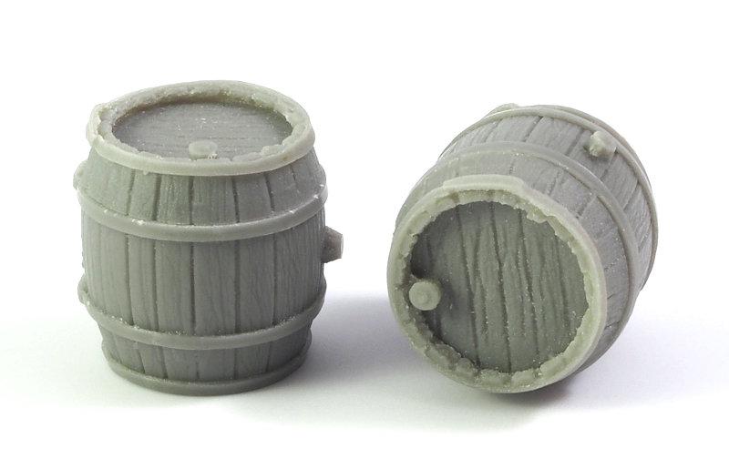 Matho 1/35 Wooden Barrels (2 pcs.)