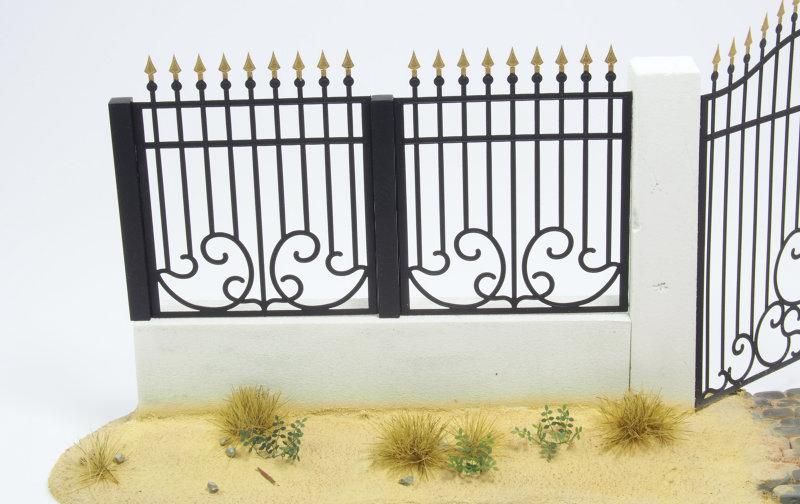 Matho 1/35 Metal Fence Set A