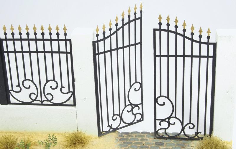 Matho 1/35 Metal Fence Set A - Gate