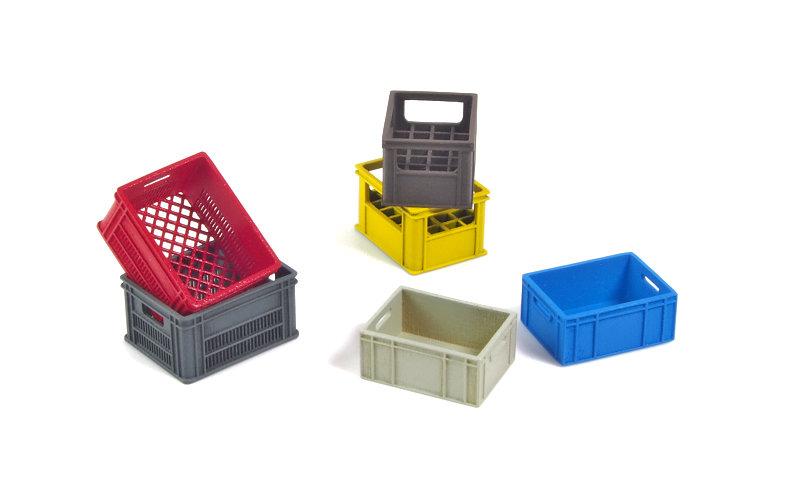 Matho 1/35 Plastic Crates Set