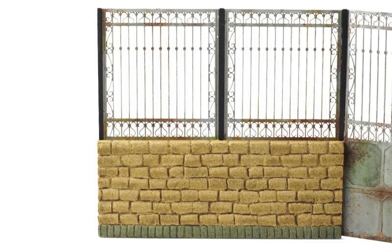 Matho 1/35 Metal Fence Set B