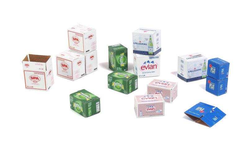 Matho 1/35 Cardboard Boxes - water