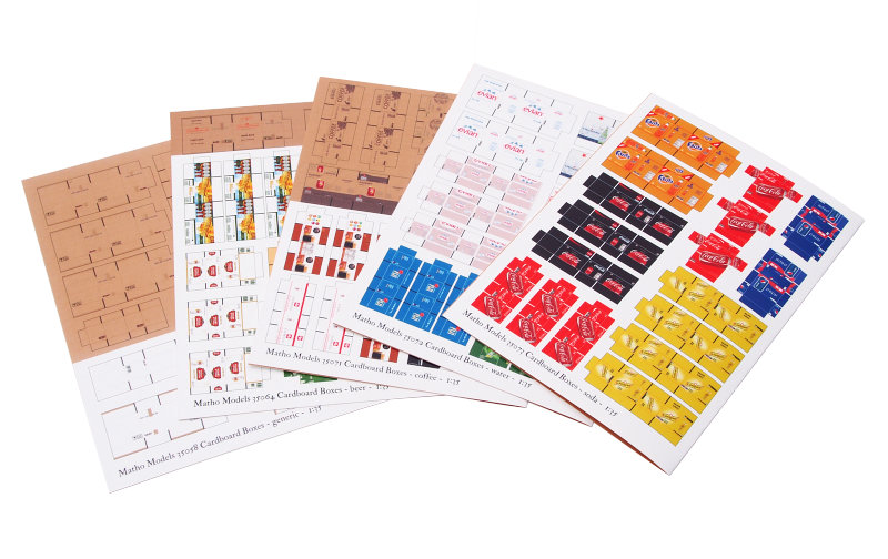 Matho 1/35 Cardboard Boxes - BIG SET 1