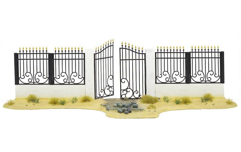 Matho 1/35 Metal Fence A - big set with gate