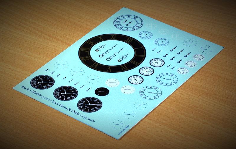 Matho 1/35 Clock Faces & Dials