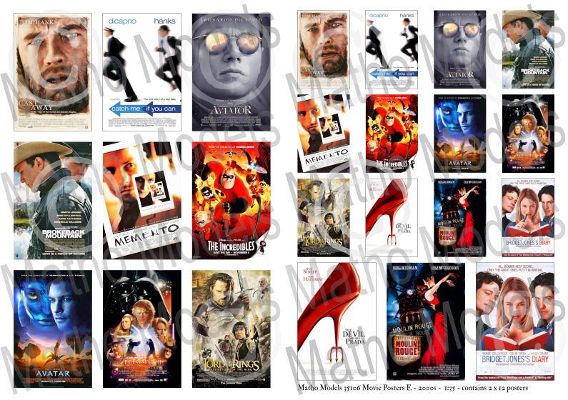 Matho 1/35 Movie Posters E - 2000s