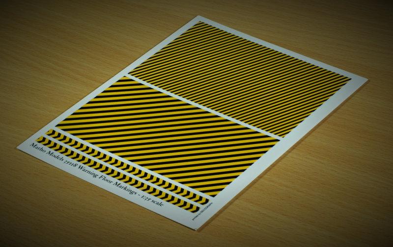 Matho 1/35 Warning Floor Markings