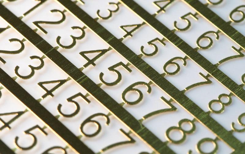 Matho PE Numbers: 4mm - 5mm