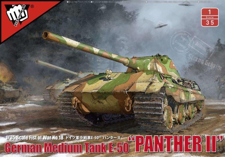 "ModelCollect German Medium tank E-50 ""Panther II"""