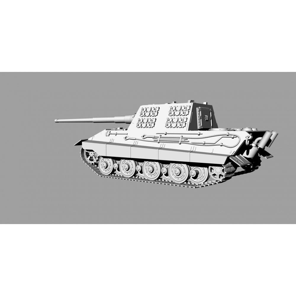 ModelCollect German WWII E-75 STUG gun with 128mm gun