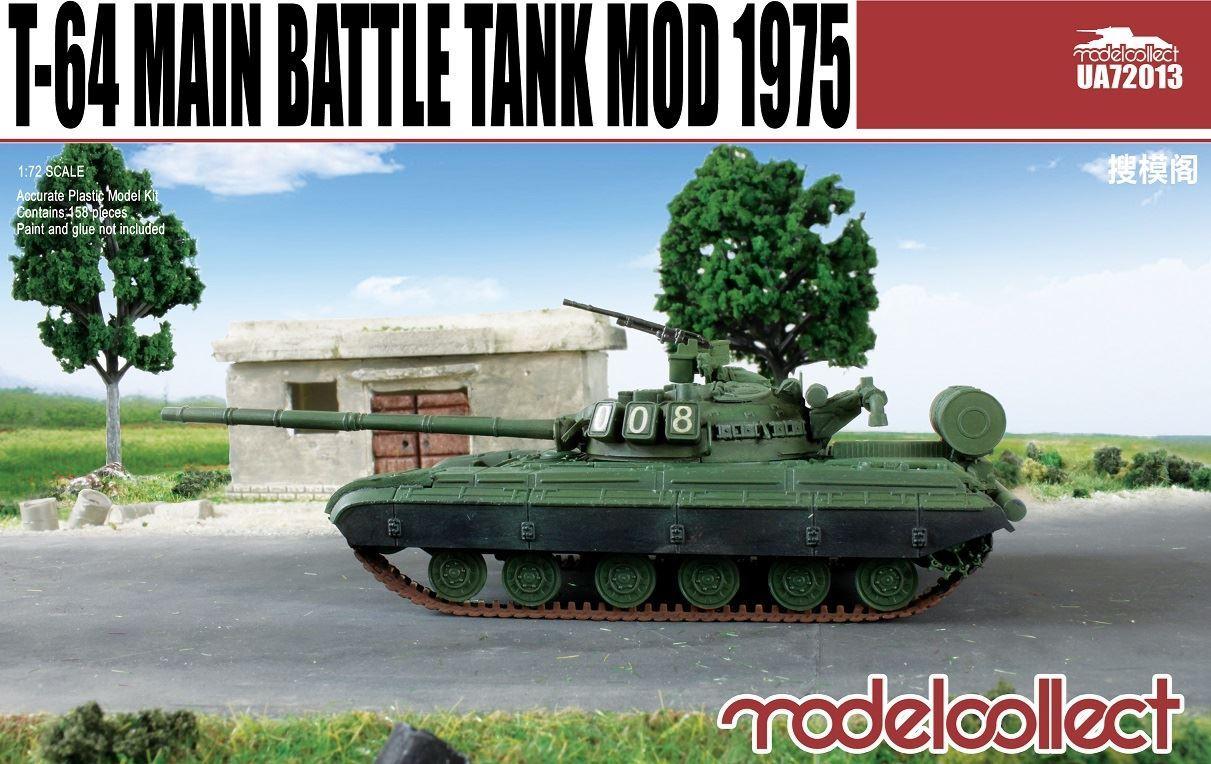 ModelCollect T-64B Main Battle Tank Mod 1975