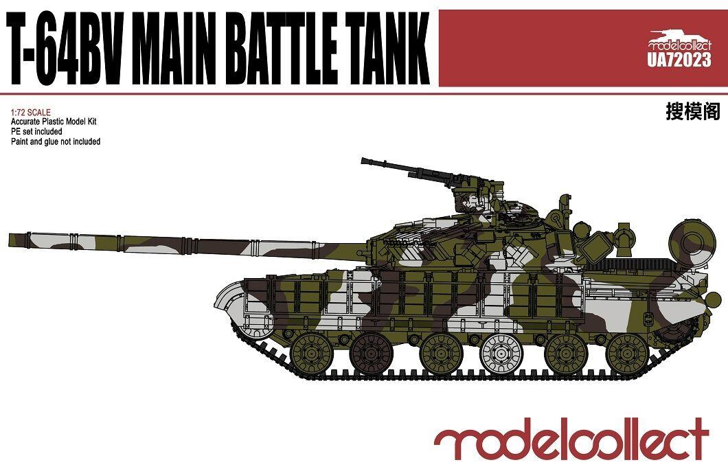 ModelCollect T-64BV Main Battle Tank