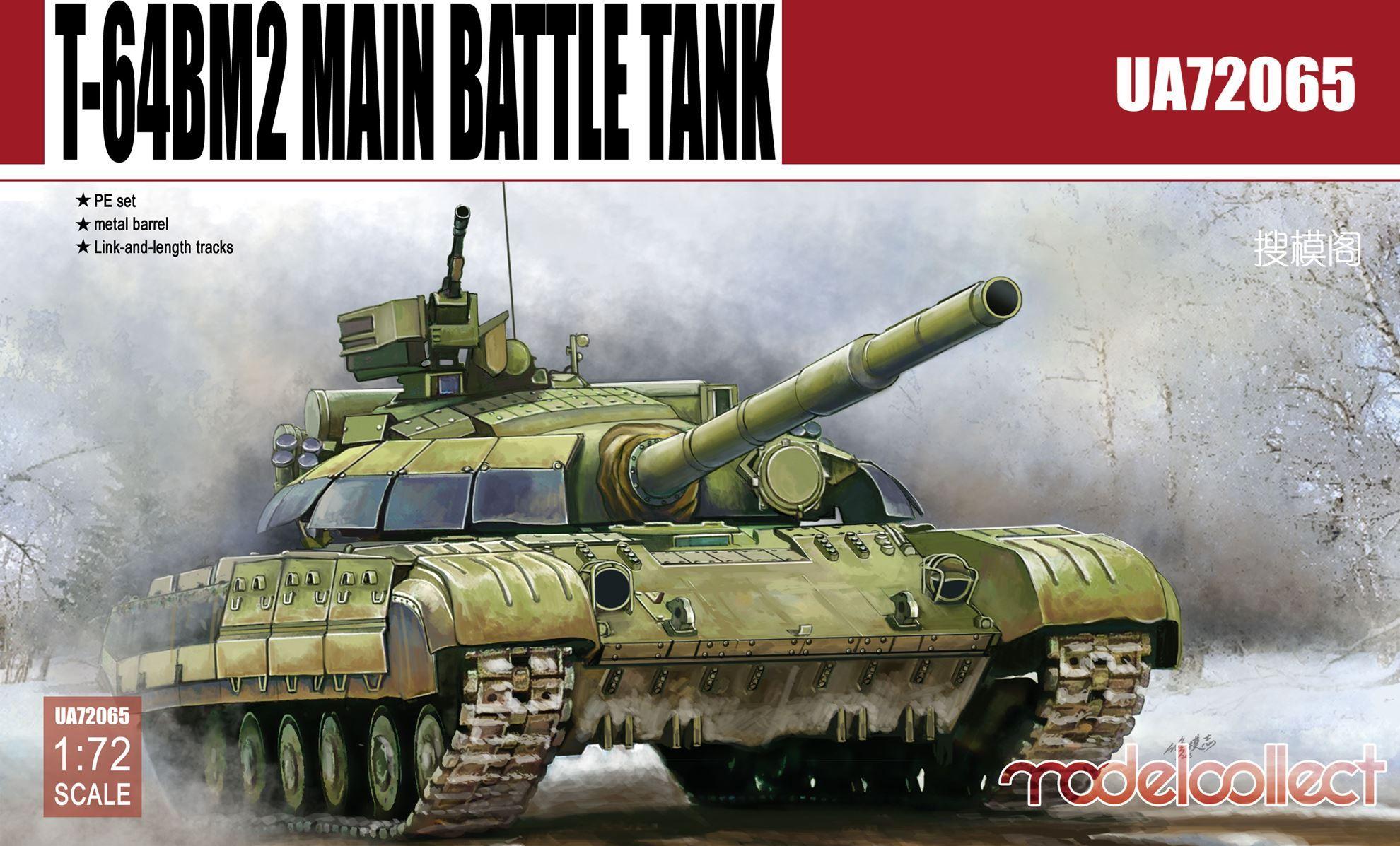 ModelCollect T-64BM2 Main Battle Tank