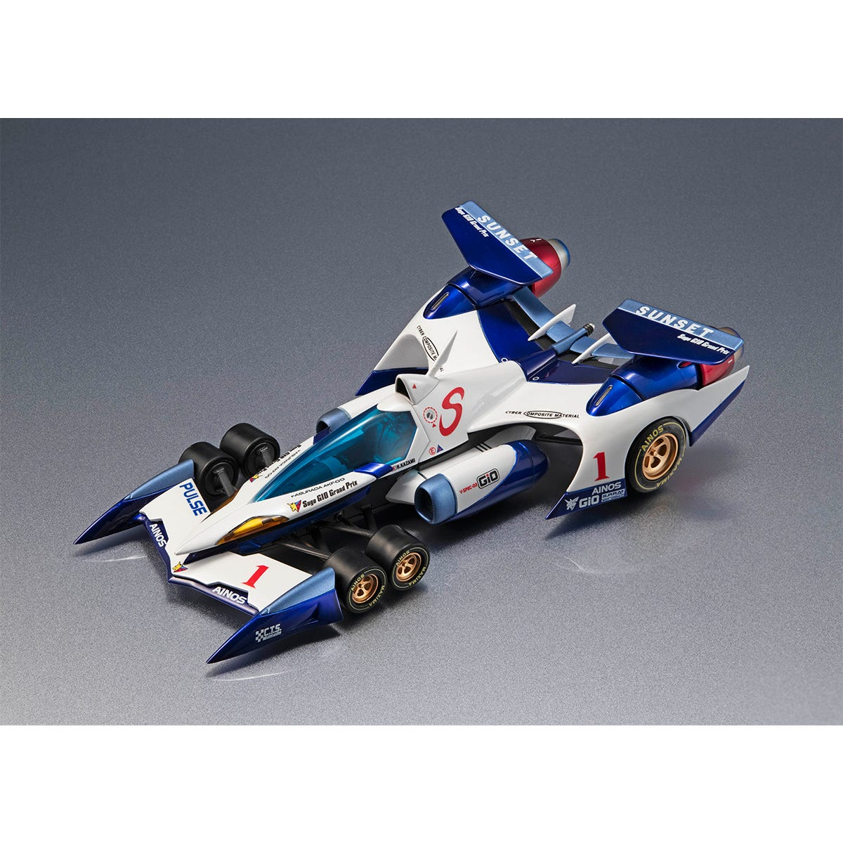 """Megahouse Cyber Formula Sin v Asurada AKF-0/G (Livery Special Edition ) """"Cyber Formula"""", Variable Action Future GPX"""