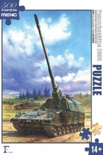 Meng German Panzerhaubitze 2000 Self-Propelled Howitzer Puzzle
