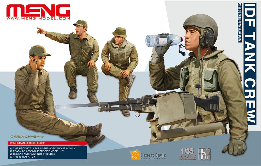 Meng 1/35 IDF Tank Crew