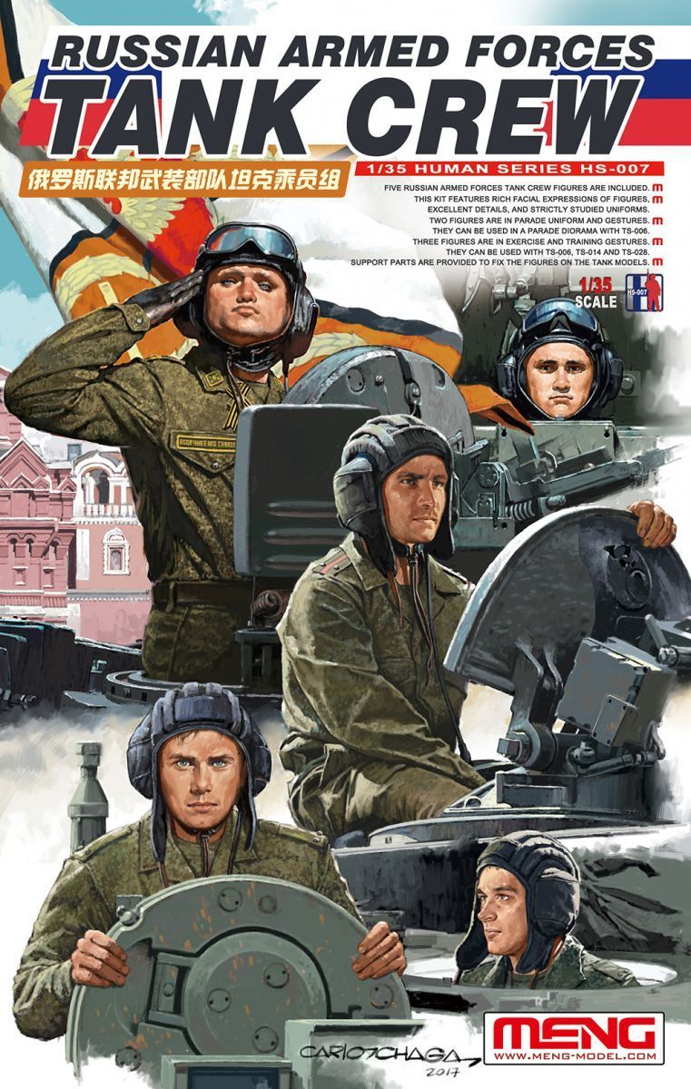 Meng 1/35 Russian Armed Forces Tank Crew