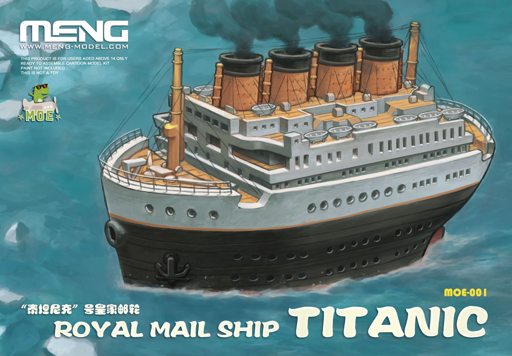 Meng Royal Mail Ship Titanic (CARTOON MODEL)