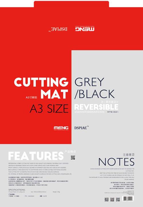 Meng Hobby Cutting Mat A3 Size