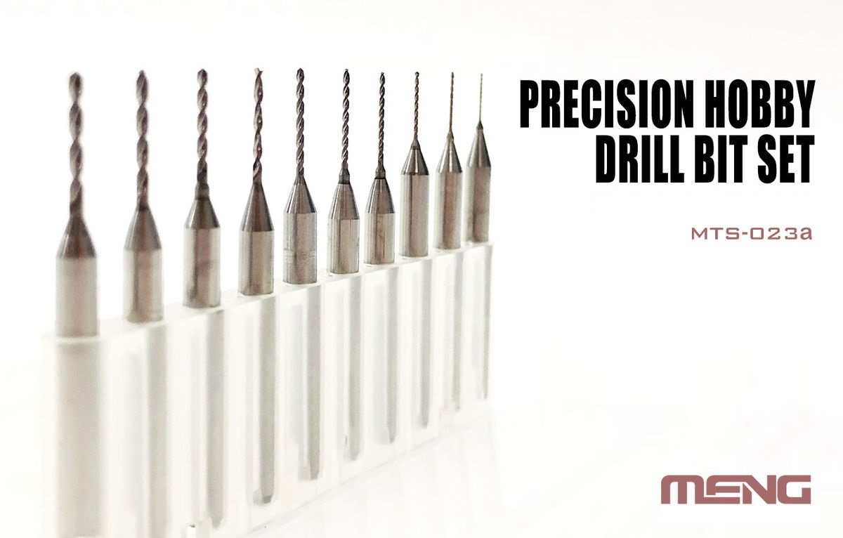 Meng Precision Hobby Drill Bit Set