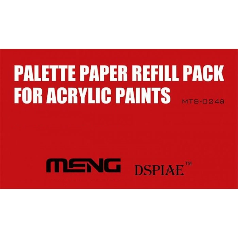 Meng Palette Paper Refill Pack