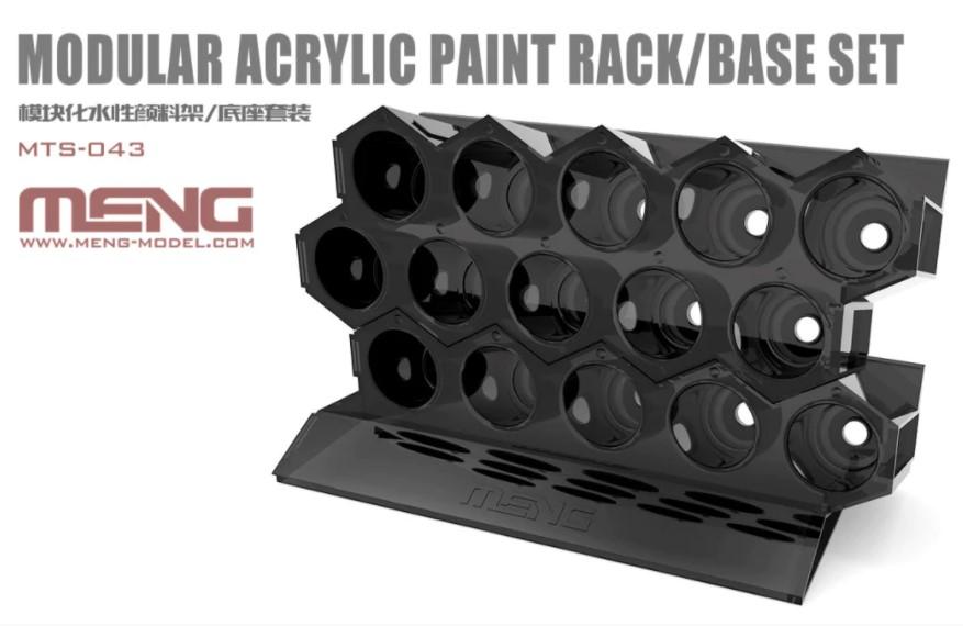 Meng Modular Acrylic Paint Rack/Base Set