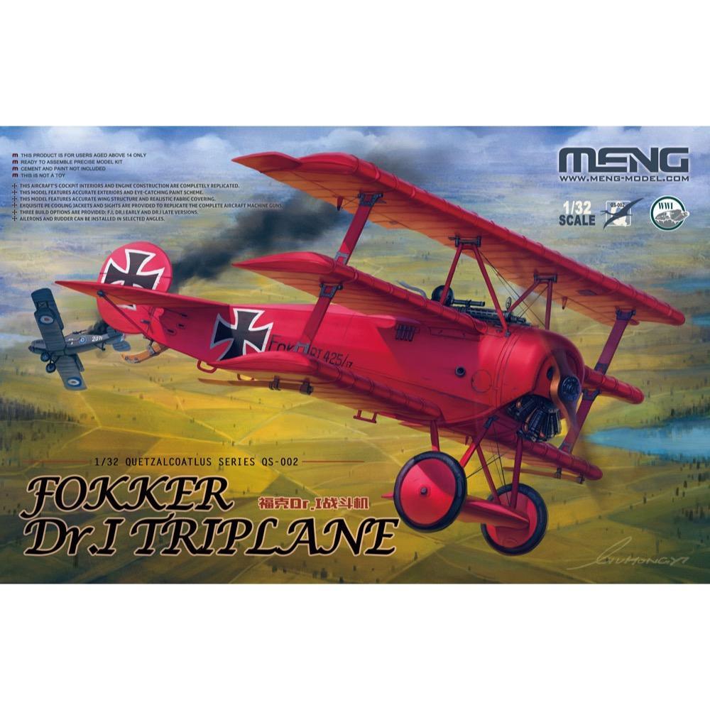 Meng Fokker Dr. I Triplane 1/32