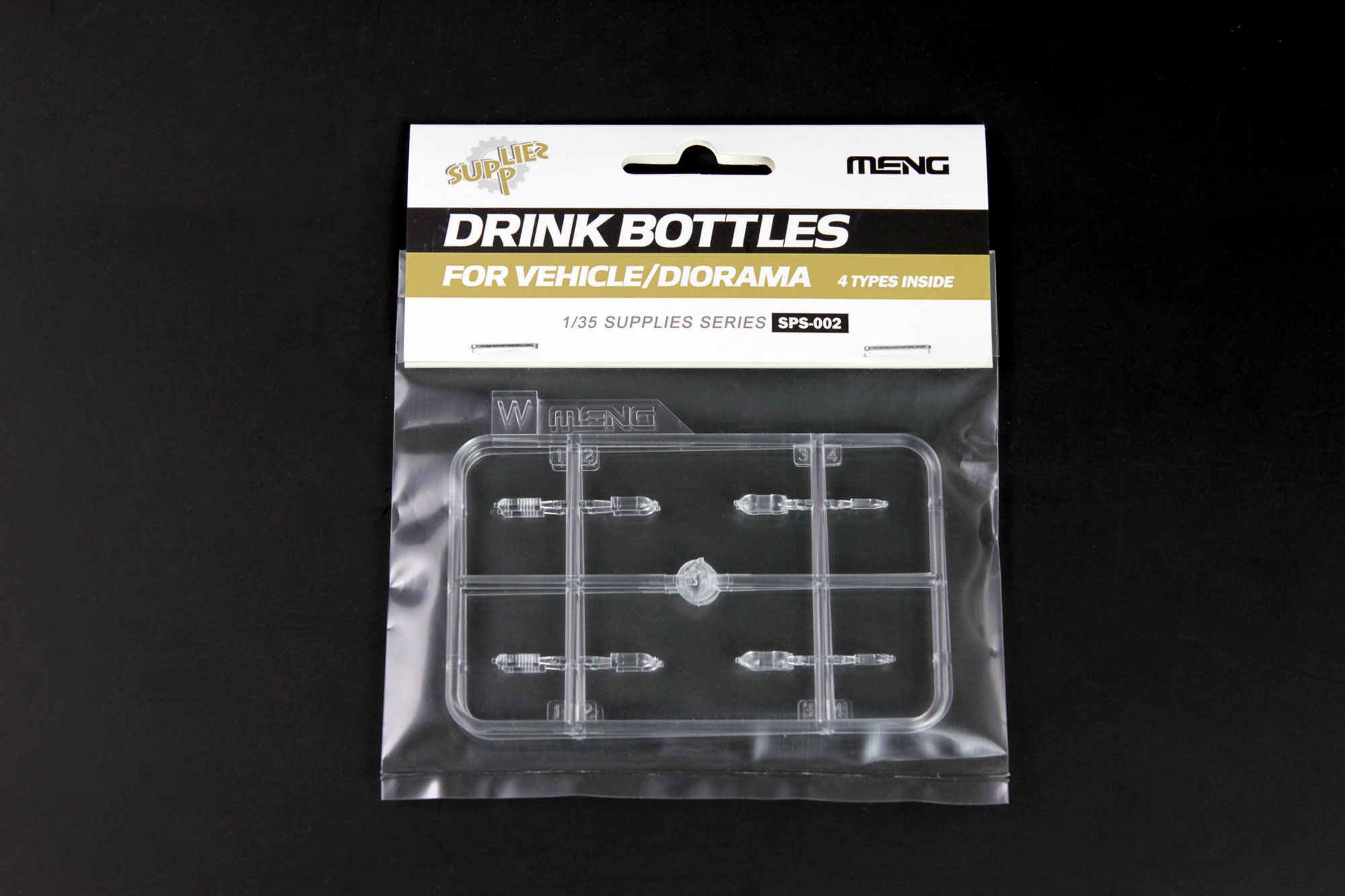 Meng 1/35 Drink Bottles for Vehicle/Diorama(4types)