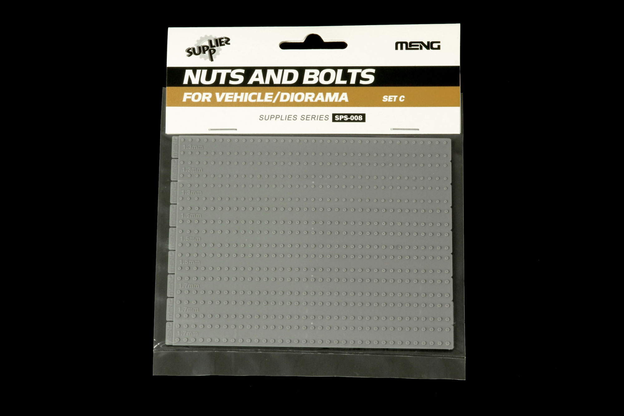 Meng 1/35 Nuts and Bolts SET C