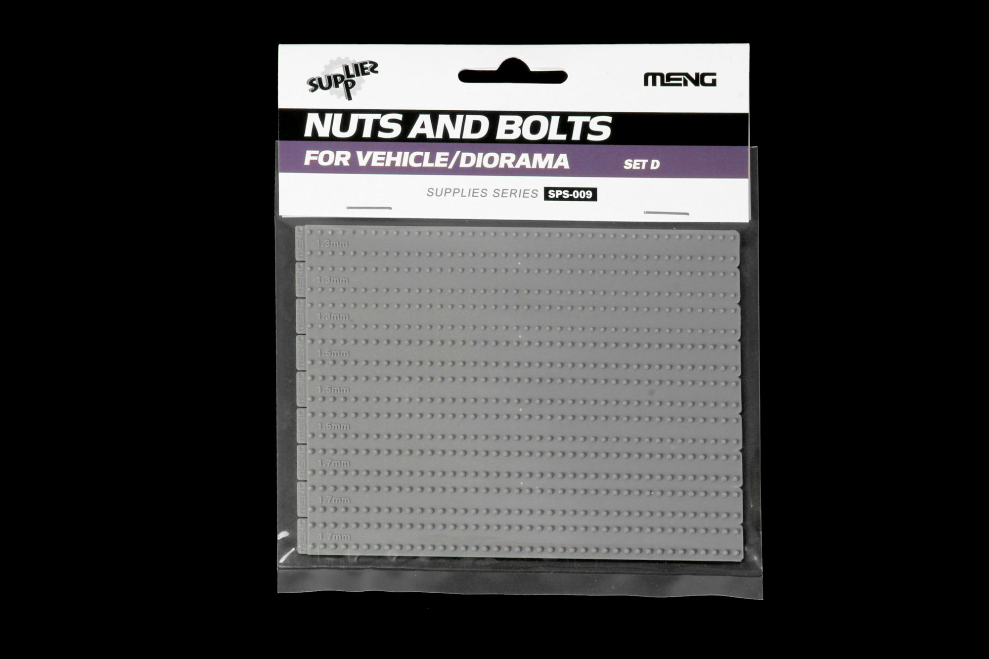 Meng 1/35 Nuts and Bolts SET D