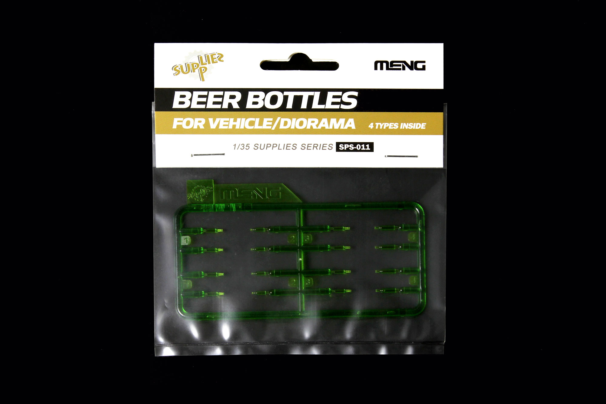 Meng 1/35 Beer Bottles for Vehicle/Diorama
