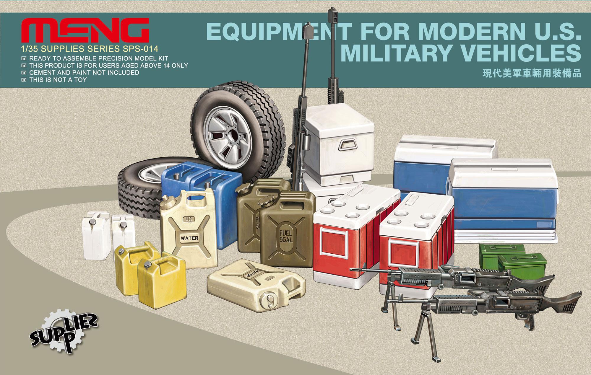 Meng Equipment For Modern Us Military