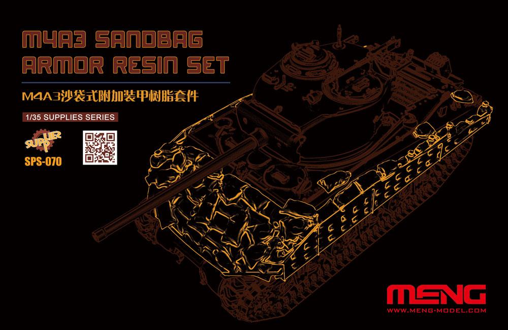 Meng 1/35 M4A3 Sandbag Armor (Resin)