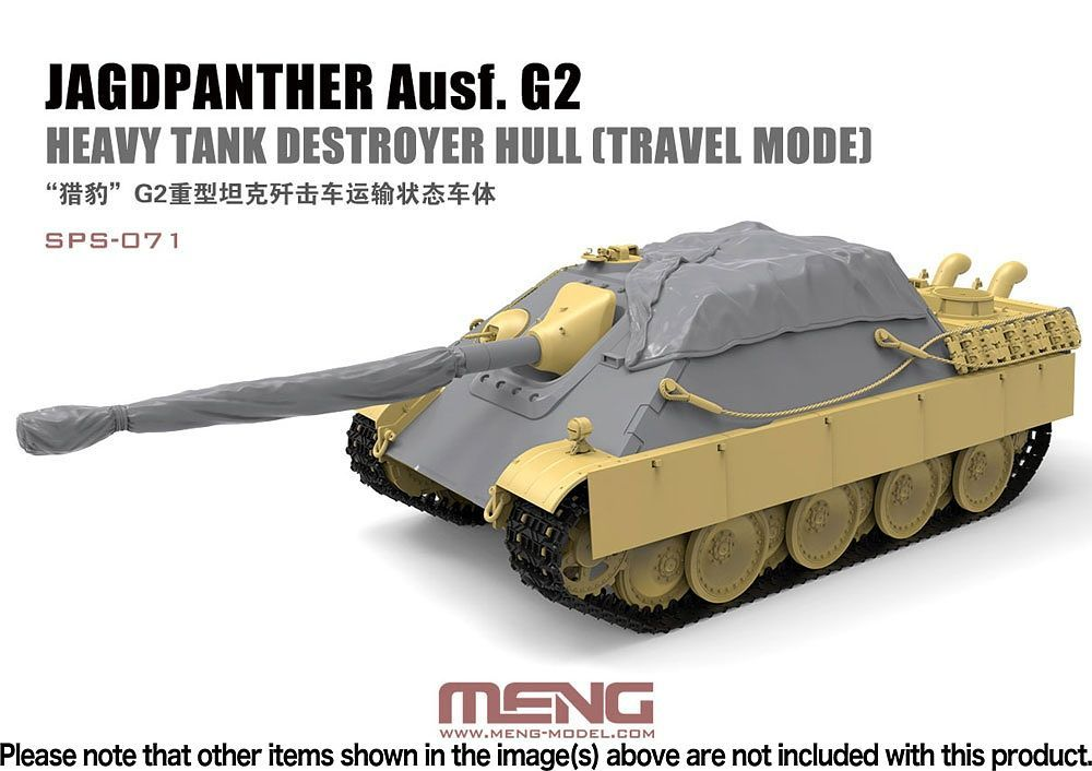 Meng 1/35 Jagdpanther Ausf. G2 Heavy Tank Destroyer Hull