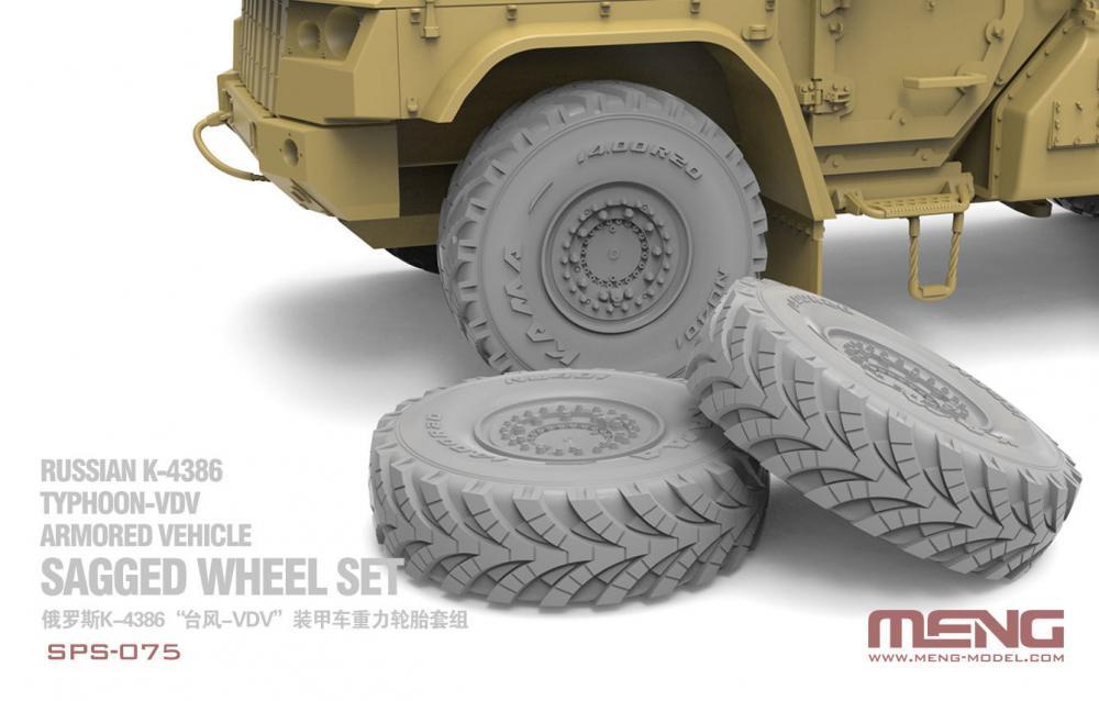 Meng Resin Model Accessory Wheel Kit 1/35