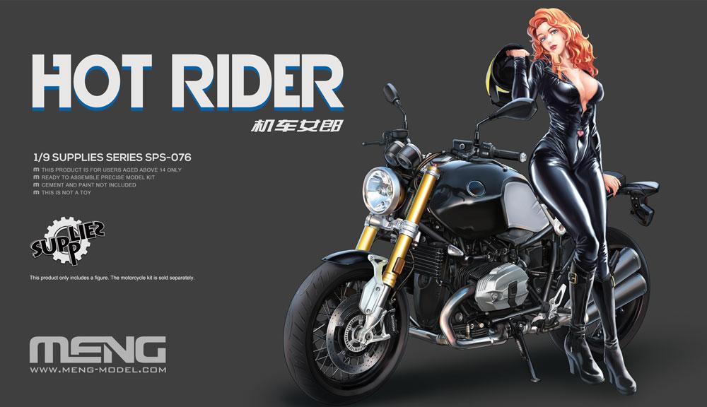 Meng 1/9 Hot Rider (Resin)