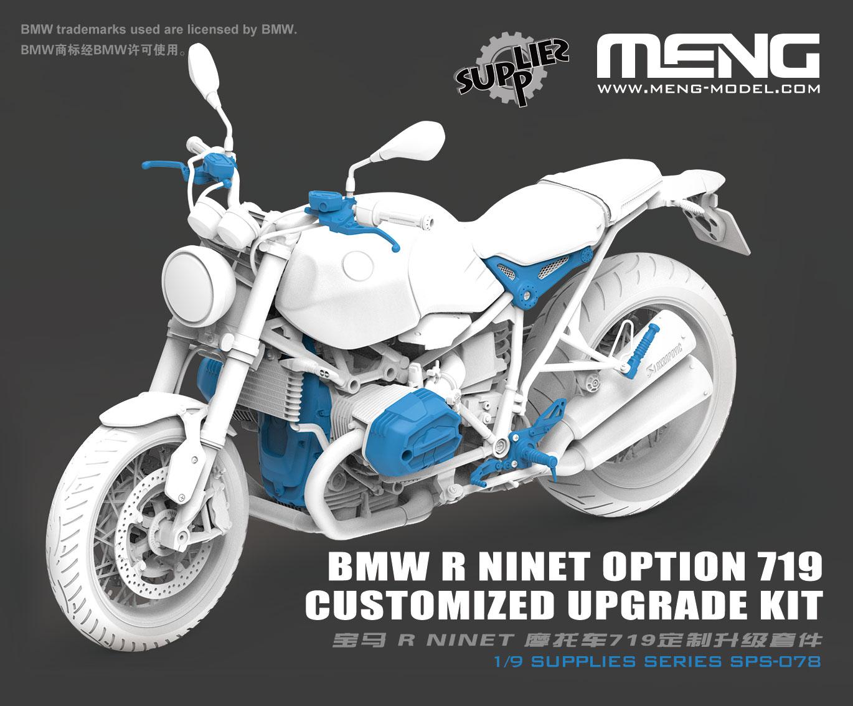 Meng 1/9 BMW R nineT Option 719 Customized Upgrade Kit (Resin)
