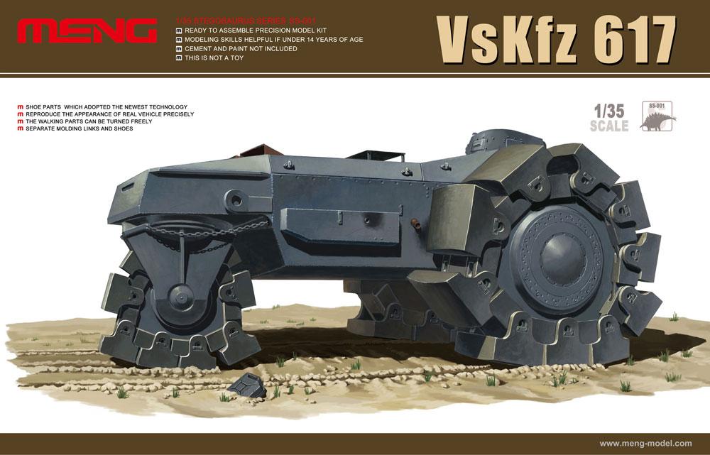 Meng 1/35 VsKfz 617 Minenr�umer