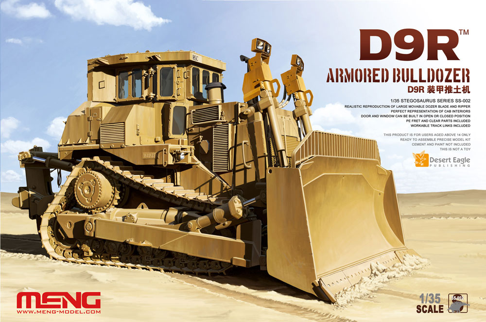 Meng 1/35 D9R Armored Bulldozer
