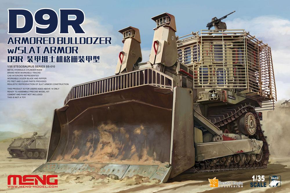Meng 1/35 D9R Armored Bulldozer W/Slat Armor