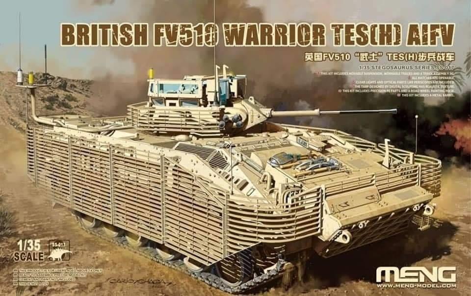Meng 1/35 British FV510 Warrior TES(H) AIFV,barcode